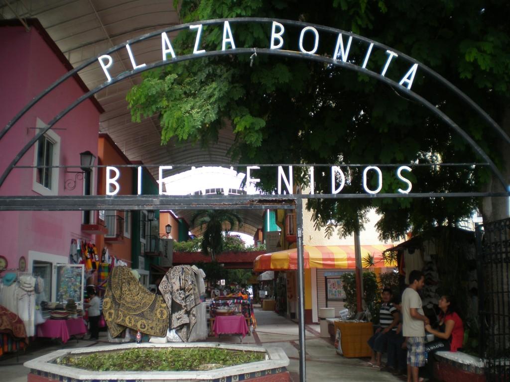 Plaza Bonita entrance