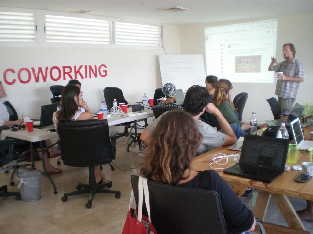 teaching blogging classes