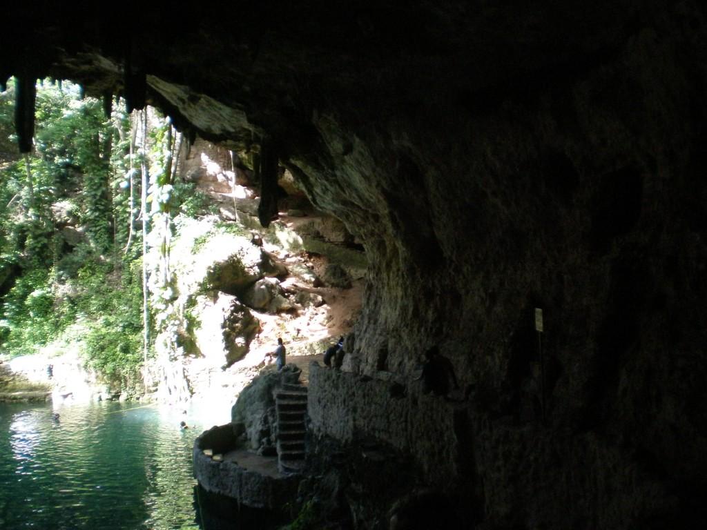 the cenote