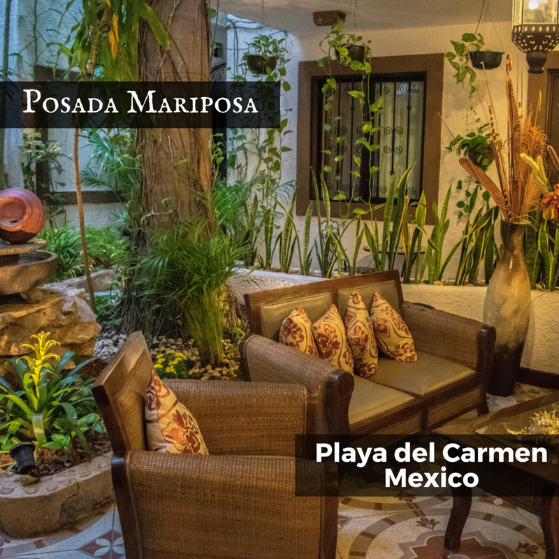 Posada Mariposa - Playa del Carmen, Mexico