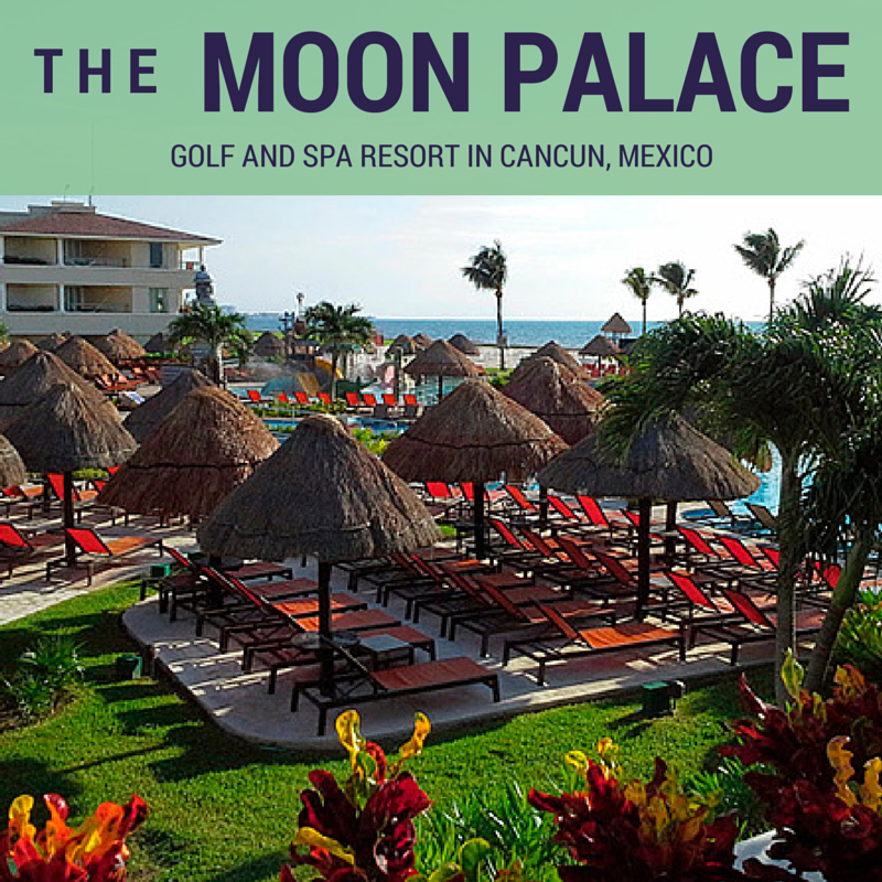 The Moon Palace Golf and Spa Resort in Cancun, Mexico