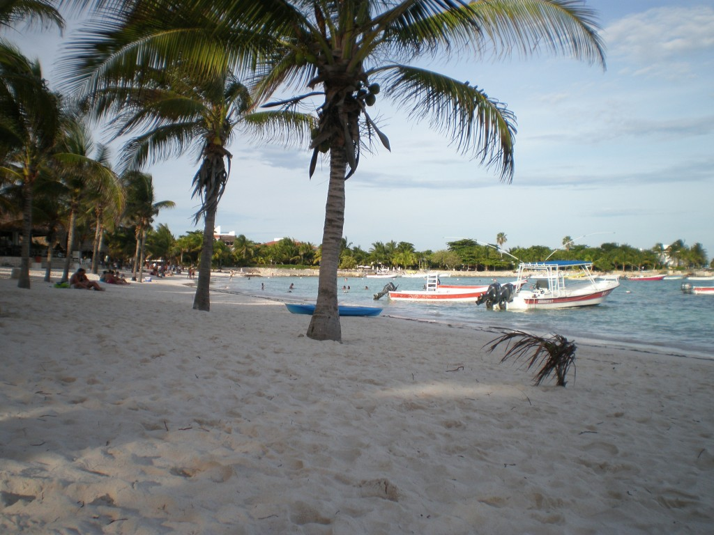 beach view in Akumal