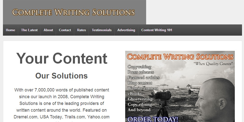 Complete Writing Solutions