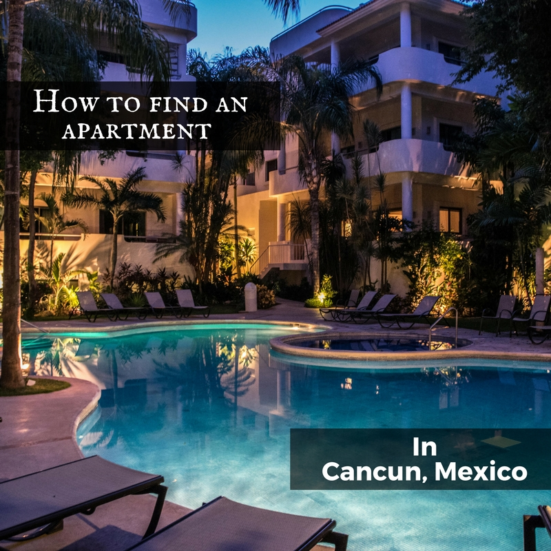 how to find an apartment in cancun