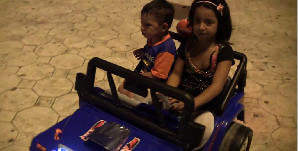 kids driving cars