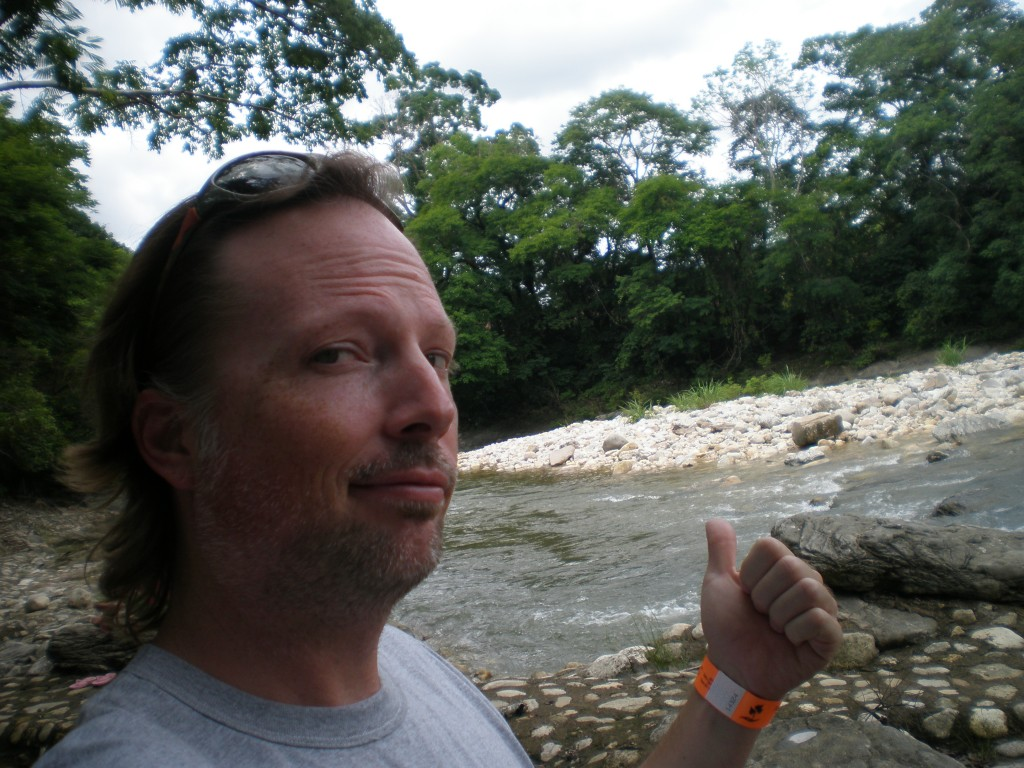 Me on the Chacamax River