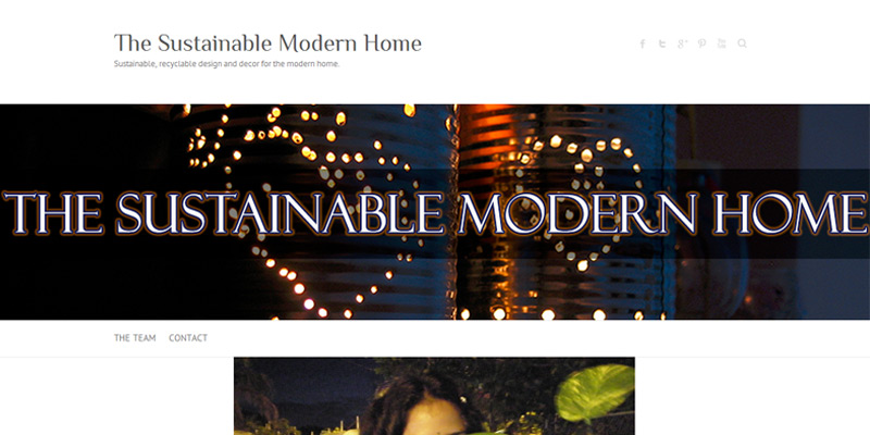 The Sustainable Modern Home